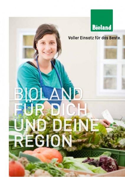 """Broschüre Regional - """"Bioland"""""""