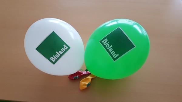 Luftballons farbig gemischt