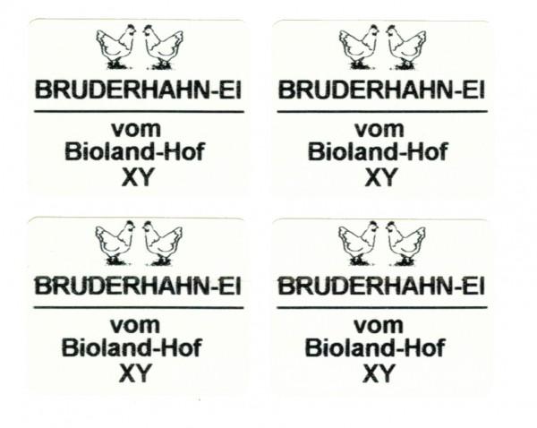 Etikett 34 x 27mm zur individuellen Beschriftung