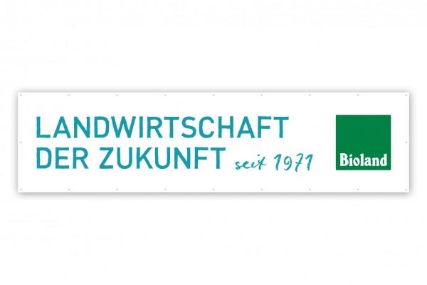 """Bioland-Banner Bioland e.V. """"Jubiläum"""" seit 1971"""