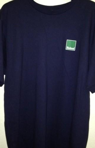 T-Shirt blau Gr. XXL