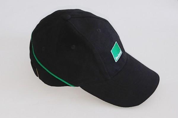 Schirmmütze, grün-schwarz