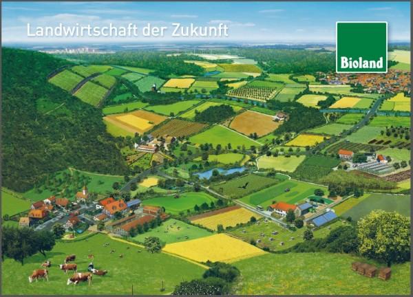 """Postkarte """"Bioland-Landwirtschaft der Zukunft"""""""