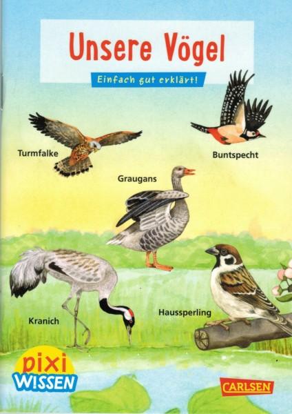 """Kinderbuch pixi wissen """"Unsere Vögel"""""""