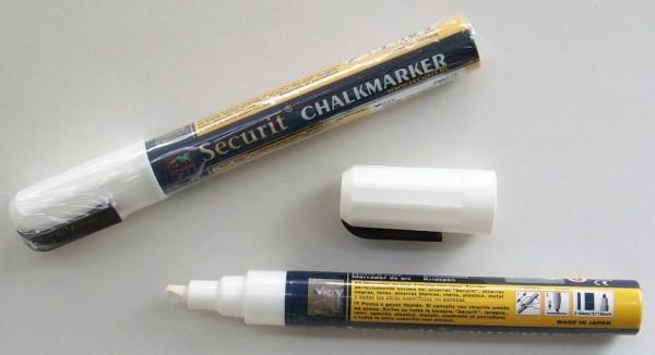 Illumigraph/ Kreidestift weiß