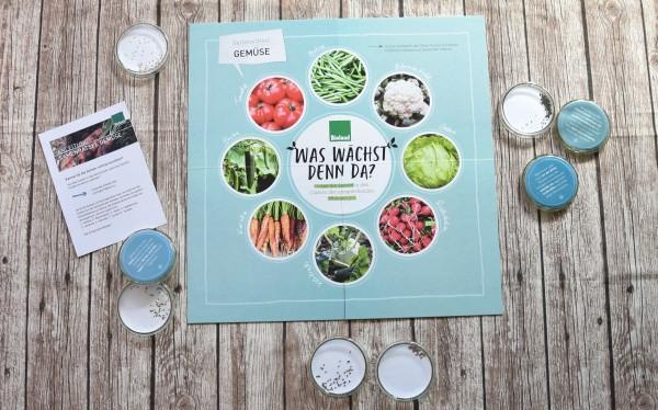 Samenrätsel Gemüse