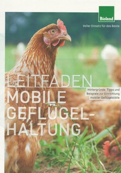 """Leitfaden """"Mobile Geflügelhaltung"""""""