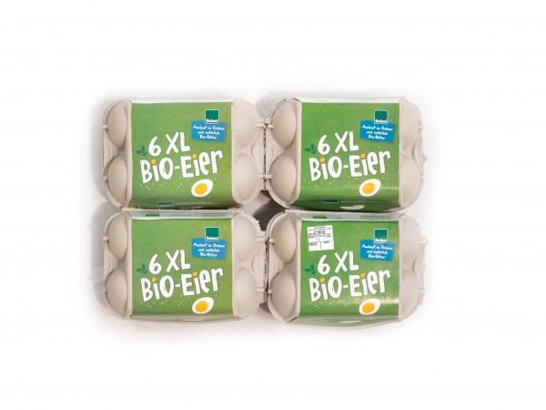 6er Eier-Kleinverpackung Bioland Standard grün XL