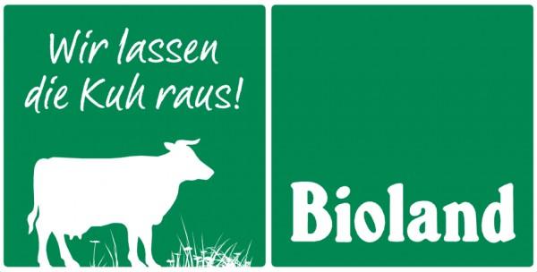 """Weideschild """"Wir lassen die Kuh raus""""80x40cm"""