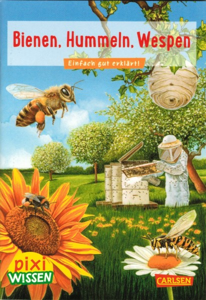 "Kinderbuch pixi wissen ""Bienen, Hummeln, Wespen"""