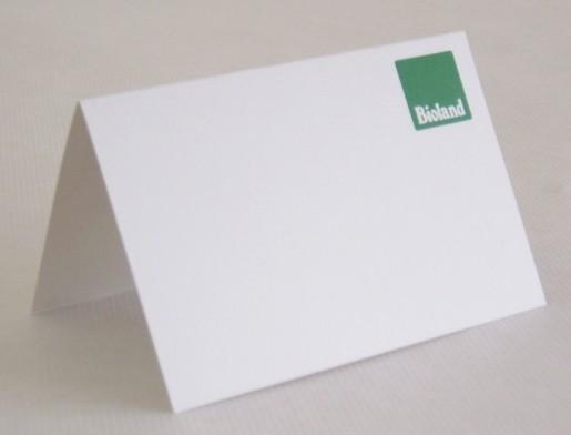 """Preisschild """"Bioland"""" 9x12 cm"""