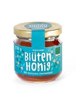 """Honigetiketten """"Blütenhonig"""" 250g mit Erzeugerdruck, 500 St."""