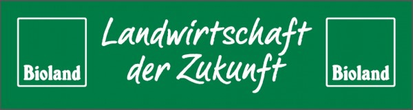 """Banner-""""Landwirtschaft der Zukunft"""""""